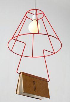 modern book lamp