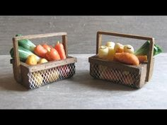(9) 1/12th Scale Vegetable Basket Tutorial - YouTube