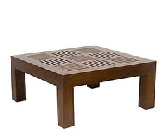 Mesa de centro de teca - marrón