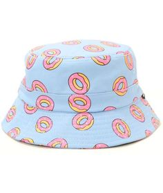 Odd Future All Over Donut Bucket Hat from Zumiez. Shop more products from Zumiez on Wanelo. Outfits With Hats, Cute Outfits, Bucket Hat Outfit, Hat Storage, Storage Ideas, Buy Hats, Fisherman's Hat, Boater Hat, Accesorios Casual