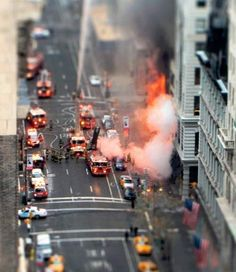 tilt shift fire
