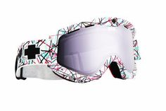 Spy Optic Targa 3 snowboard goggles in 'Nervous' & rose-silver mirror $55