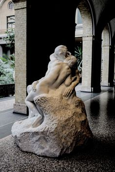 Copenhagen (Denmark) - Ny Carlsberg Glyptotek - Auguste Rodin (The Kiss) - photography - travel Ⓒ PASTELPIX
