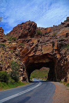 Bains Rock Tunnel, Cogmans Kloof Pass, Ashton, Western Cape, South Africa