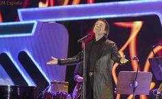 Raphael pospone su concierto en Madrid por laringitis