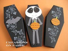 Creations on Paper: Altered Milk Carton Boxes - Tutorial