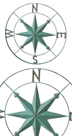 Celebrate your explorer's heart and spirit with this charming Onward Compass Rose Wall Art. A lovely reminder that there's always more to explore, this wall decoration features iron crafting with a dis...  Find the Onward Compass Rose Wall Art, as seen in the Bohemian Beach Bungalow Collection at http://dotandbo.com/collections/bohemian-beach-bungalow?utm_source=pinterest&utm_medium=organic&db_sku=126796