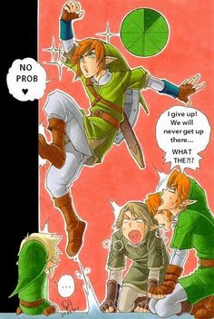 the only link who could... LOL