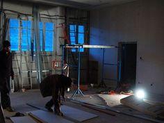 salle de repetition en construction
