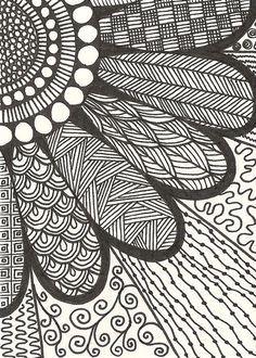 20 + most popular ways to art designs patterns doodles 88 zentangle drawings, doodle drawings Sharpie Drawings, Sharpie Art, Zentangle Drawings, Doodles Zentangles, Doodle Drawings, Doodling Art, Sharpie Projects, Sharpie Doodles, Flower Drawings