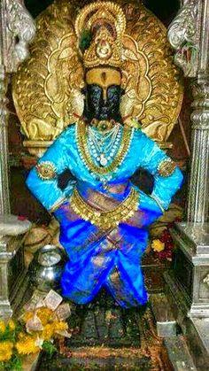 MOHNISH AHLUWALIA NOTES: The Vithoba of Pandharpur Hindu Deities, Hinduism, King Of India, Lord Balaji, Indian Art Paintings, Blue Balloons, Lord Vishnu, God Pictures, Radhe Krishna