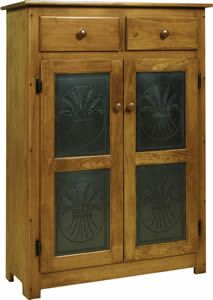 Amish Pie Safe with Tin Doors - I need this!