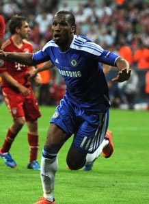 Say what you will about Didier Drogba, but he delivered Chelsea its first European championship.