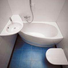 AVOCADO, la bañera Asimétrica más pequeña y cómoda del mundo