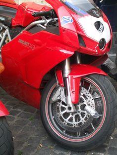 Ducati 999 in Italy