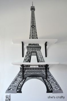 Eiffel Tower Shelves