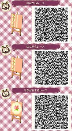 Pink hair w panda acnl qr clothes animal crossing and for Acnl boden qr
