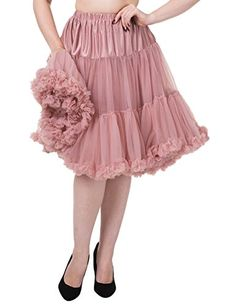 Banned Petticoat Starlite 235 Dusty pink Rosa XS-S