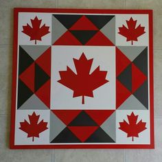 Canadian Maple Barn Quilt