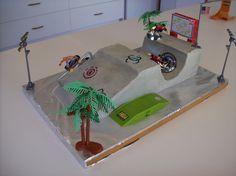 Brad's Skate Park cake