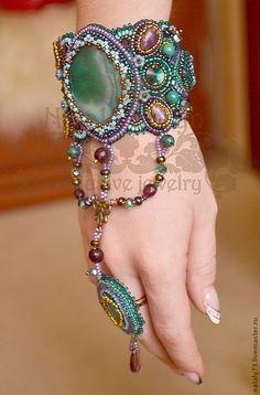 """браслет""""Тайны Востока"""" - восточный стиль,восточное украшение,индийский стиль"""