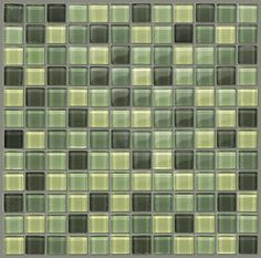 "Backsplash for kitchen behind oven -Glass Tile by Shaw Floors in style ""Glass Mosaic 12"" color Spruce"