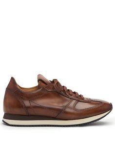 Calfskin Windham Sneaker - Ralph Lauren Ballets and Flats - RalphLauren.com