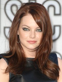 Find the Best Haircut for Your Face Shape: Hair Ideas: allure.com..a round face looks good with an uneven cut(mixed length..layers)..add a deep side part and side swept bangs it will make you look slimmer.