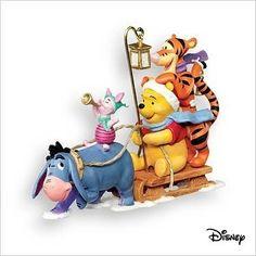 2007 Winnie The Pooh - Oh, was für ein Spaß - Disney Eeyore - Ornaments Winnie The Pooh Christmas, Winnie The Pooh Friends, Disney Winnie The Pooh, Baby Disney, Eeyore, Tigger, Disney Christmas Ornaments, Christmas Clay, Christmas 2019