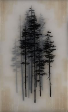 Hand drawn graphite on Duralar cast in layers of resin. colour made using layers of trnsparent tape. Brooks Salzwedel