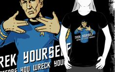 Trek yourself before you wreck yourself - Spock by RobertKShaw