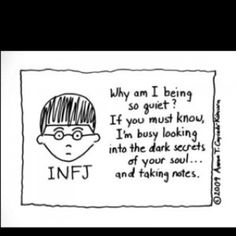 Only because INFJs are the coolest cats ever. I would know.