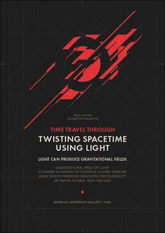 TWISTING SPACETIME by Metric72 , via Behance