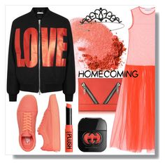 """""""Homecoming"""" by skad183 ❤ liked on Polyvore featuring NARS Cosmetics, Givenchy, Kenzo, STELLA McCARTNEY, Vans, Gucci and Miss Selfridge"""