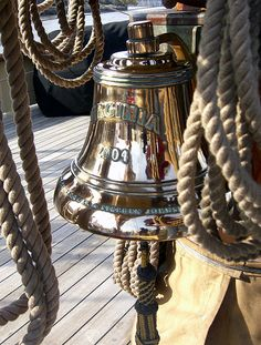 Nice brass ship's bell