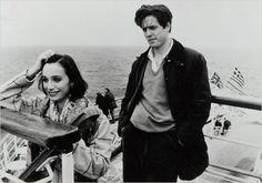 Kristin Scott-Thomas & Hugh Grant in Bitter Moon