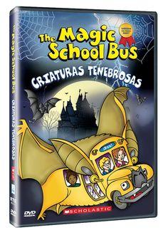 Diseño publicitario de DVD's - Stop Diseño Gráfico - Diseño de Criaturas tenebrosas - The Magic School Bus - Scholastic.
