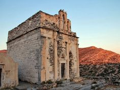 Church of Episkopi, Sikinos #mysteriousgreece