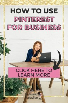 Do you know how to use Pinterest for your business and drive traffic to your blog? Check these best Pinterest marketing tips from Big Income Paradise. Learn how to grow your blog traffic and business. Create an effective Pinterest marketing strategy that will help you grow your business. You will also get a Free Pinterest Marketing Course that will teach you how to get massive traffic from Pinterest. Business Checks, Business Tips, Business Marketing, Social Media Marketing, Pinterest For Business, Promote Your Business, Pinterest Marketing, Learning, Paradise