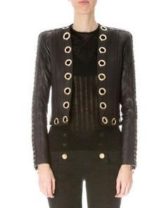 f2a4c0c52f60 Leather Jackets   Coats for Women at Neiman Marcus