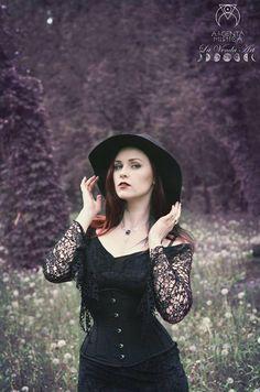 Model, stylization: Revena photographer: La Venda Art jewelry: Argenta Mistica Welcome to Gothic and Amazing |www.gothicandamazing.org