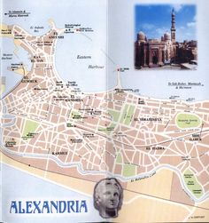 Image detail for -map of alexandria egypt - map of jerusalem