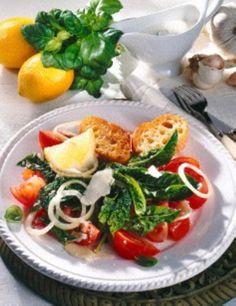 Tomaten-Spinat-Salat Rezept