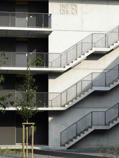 AuBergewohnlich Student Dormitory / Nickl U0026 Partner Architekten