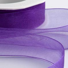 Our hottest selling ribbon is always in demand and this Purple Organza Ribbon with Woven Edge shows how beautiful this product actually is. 65th Birthday Cards, Happy 50th Birthday, Make Your Own Wedding Invitations, Burlap Lace, Organza Ribbon, Christmas Photo Cards, Ribbon Crafts, Blank Cards, How Beautiful