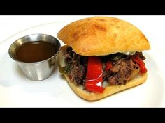 The Wolfe Pit shows you how to make Pepper Stout Beef. Beef braised with Guinness Extra Stout, peppers and onions until fall apart tender. Print Recipe - htt...