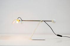 Balance table lamp - Sabine Charoy - Stilnovo - ca 1970www.b22design.nl