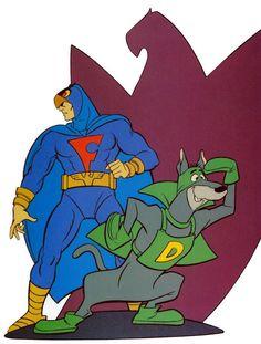 Blue Falcon and Dyno Mutt