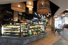 Temptations bakery & patisserie by Masterplanners Interiors,...