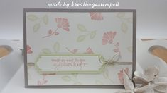 Tolles neue Produktpaket bei stampin up! Flyer, Up, Frame, Home Decor, Card Crafts, Creative, Picture Frame, Decoration Home, Room Decor